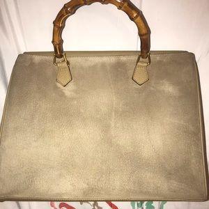 097e9f19485 Gucci Bags - Gucci Beige Bamboo handbag